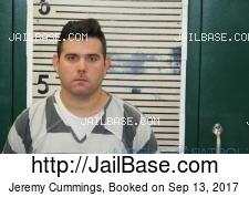 Jeremy Cummings mugshot picture