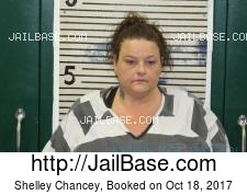 Shelley Chancey mugshot picture