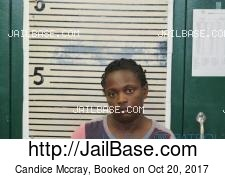 Candice Mccray mugshot picture