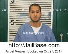 Angel Morales mugshot picture
