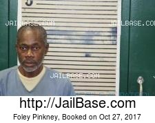 Foley Pinkney mugshot picture