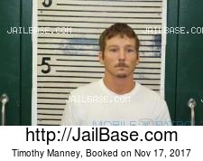 Timothy Manney mugshot picture