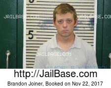 Brandon Joiner mugshot picture
