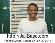 Kenneth Mingo mugshot picture