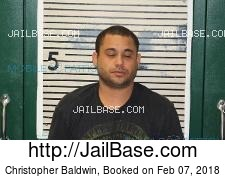 Christopher Baldwin mugshot picture