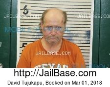 David Tujukapu mugshot picture