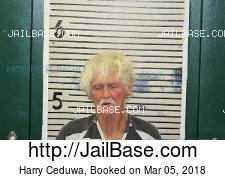 Harry Ceduwa mugshot picture