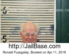 Ronald Fuyegalep mugshot picture