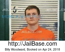 Billy Woodward mugshot picture