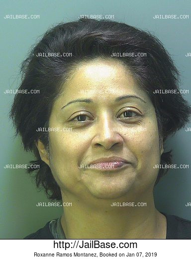 ROXANNE RAMOS MONTANEZ mugshot picture