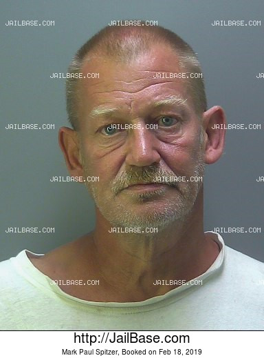 MARK PAUL SPITZER mugshot picture