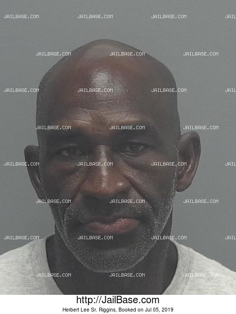 HERBERT LEE SR. RIGGINS mugshot picture