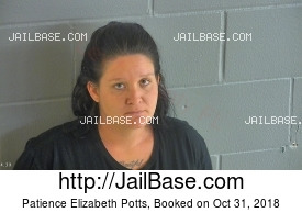 PATIENCE ELIZABETH POTTS mugshot picture