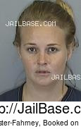 CAYLYN WEBSTER-FAHRNEY mugshot picture