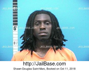 SHAWN-DOUGLAS SAINT-MARC mugshot picture
