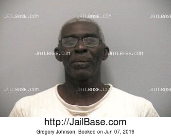 GREGORY JOHNSON mugshot picture