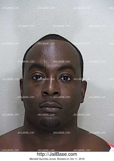 WENDELL QUONTES JONES mugshot picture