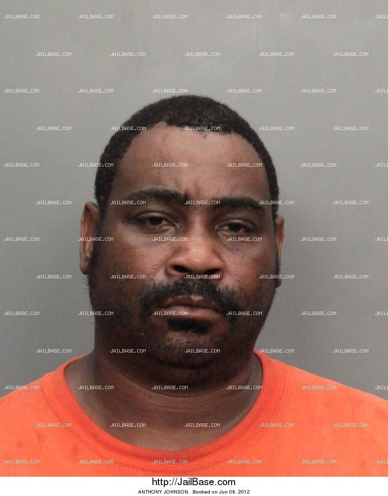 ANTHONY JOHNSON mugshot picture