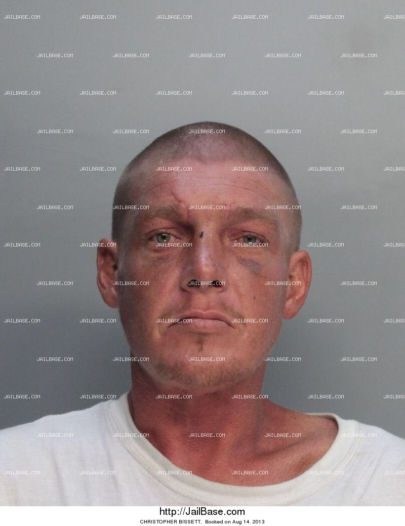 christopher bissett mugshot picture