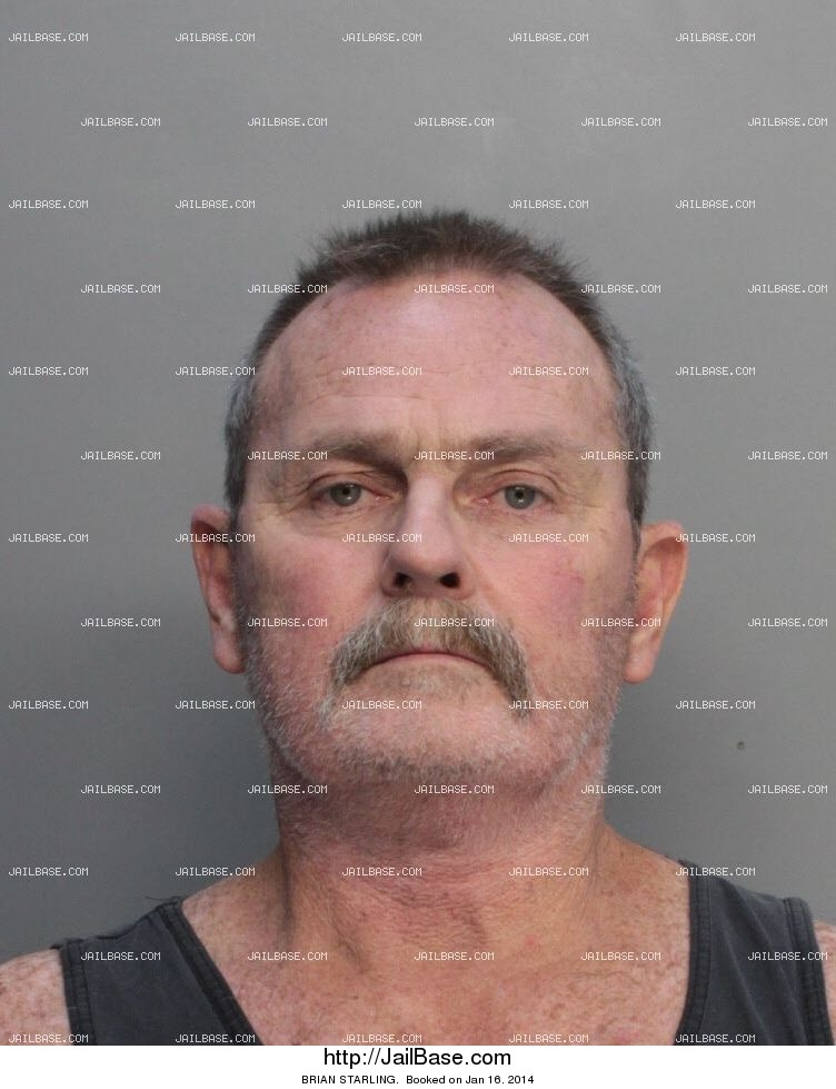 brian starling mugshot picture