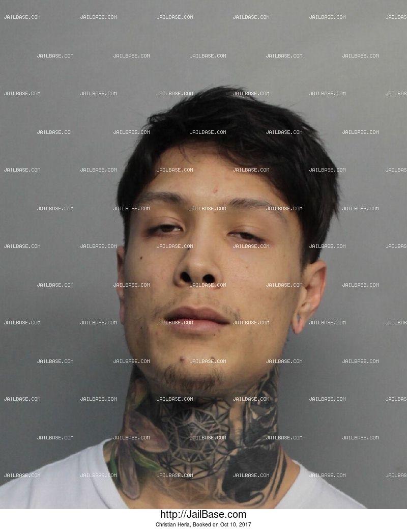 Christian Heria | Arrested on Oct  10, 2017 | JailBase