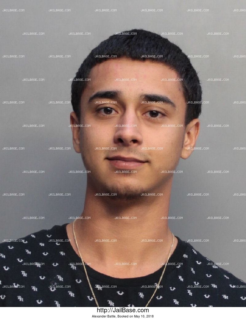 ALEXANDER BATTLE mugshot picture