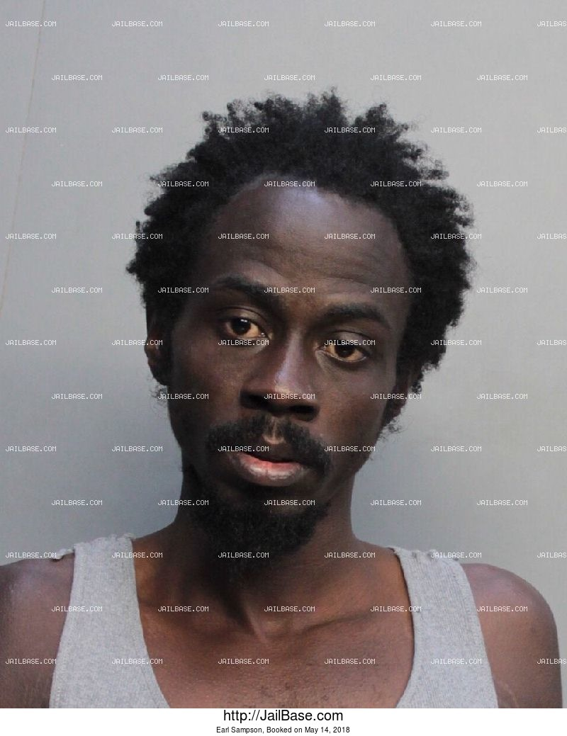 EARL SAMPSON mugshot picture