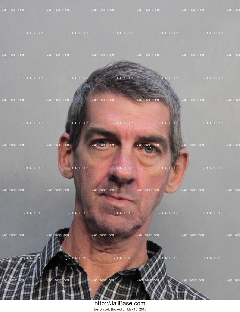 JOE DRISCOLL mugshot picture