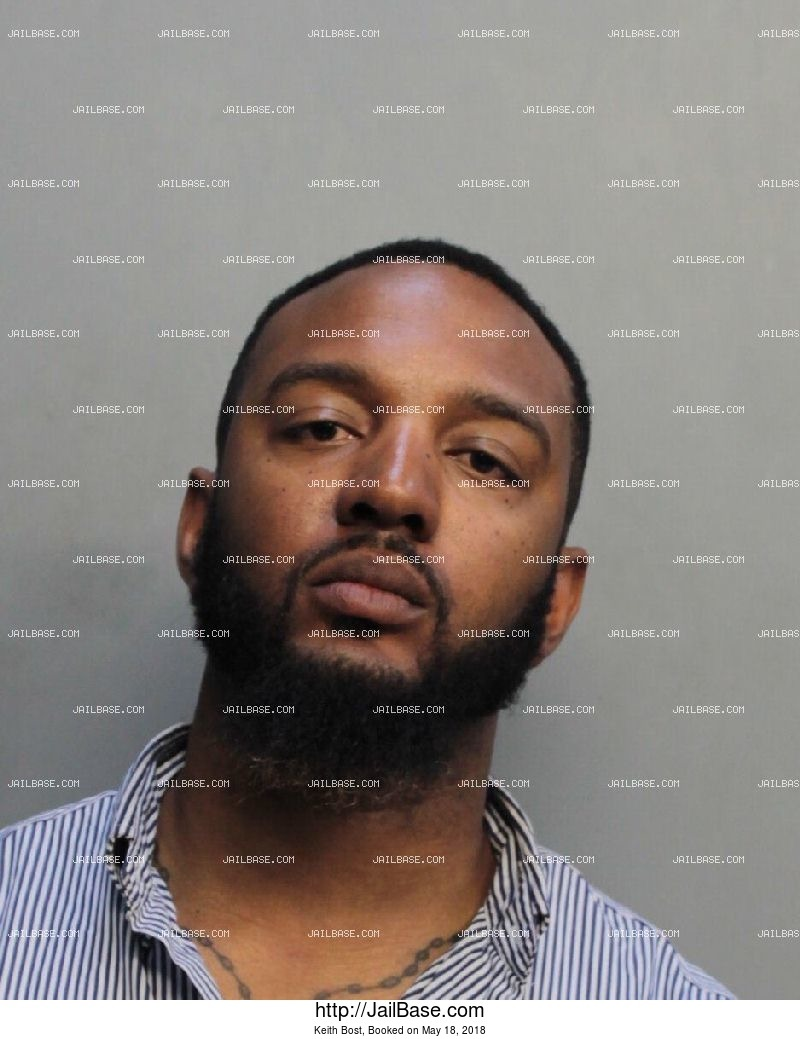 KEITH BOST mugshot picture
