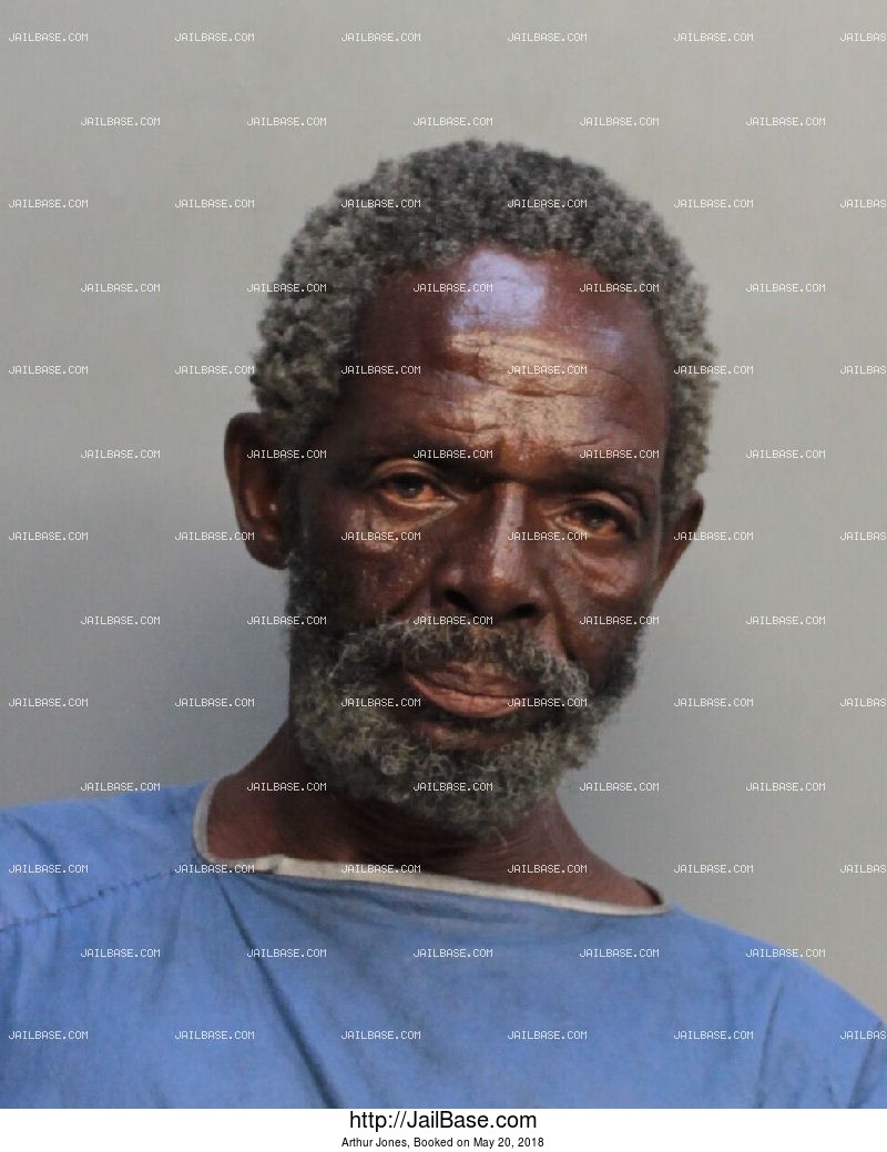 ARTHUR JONES mugshot picture