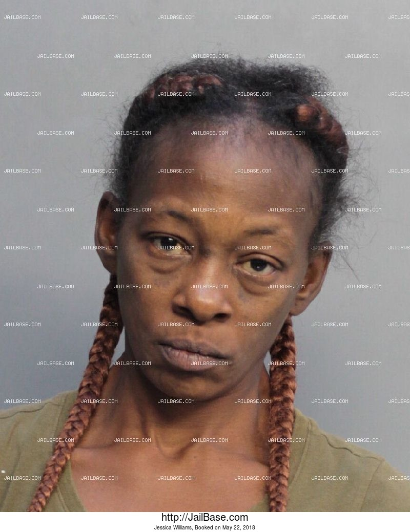 JESSICA WILLIAMS mugshot picture