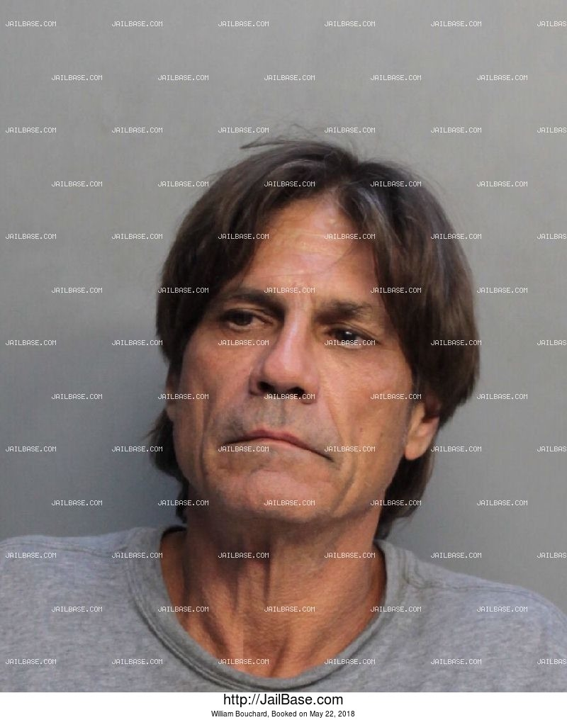 WILLIAM BOUCHARD mugshot picture