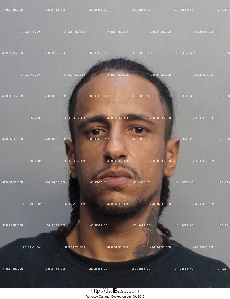 FRANCISCO GARLAND mugshot picture
