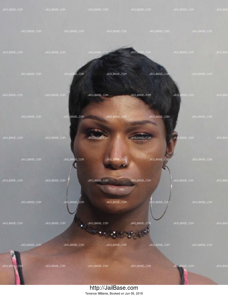 TERRANCE WILLIAMS mugshot picture