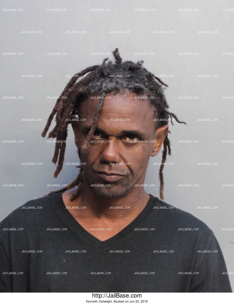 KENNETH CARTWRIGHT mugshot picture