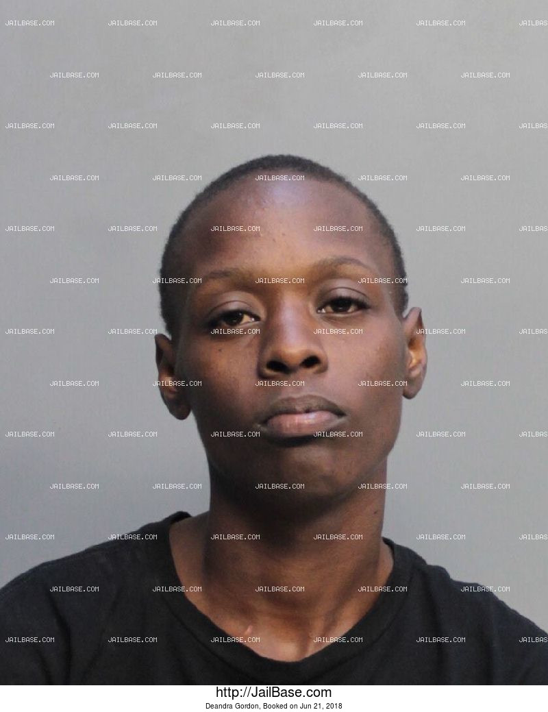 DEANDRA GORDON mugshot picture