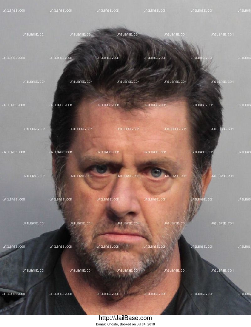 DONALD CHOATE mugshot picture