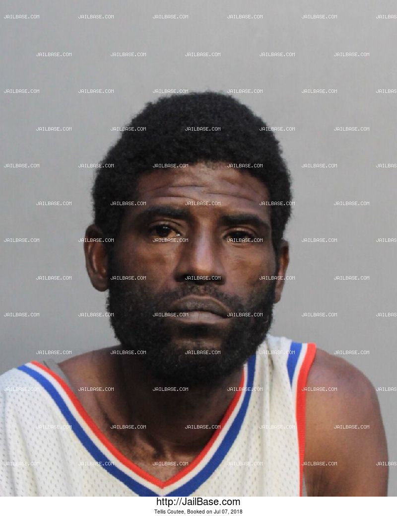 TELLIS COUTEE mugshot picture