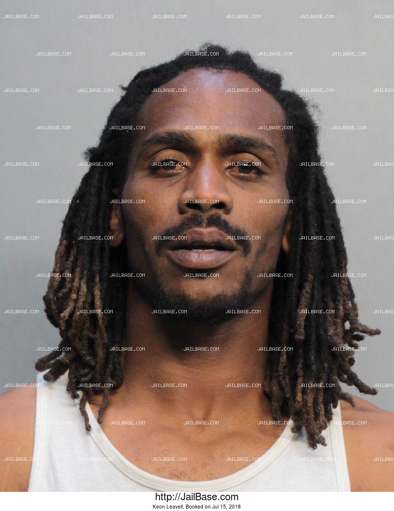 KEON LEAVELL mugshot picture