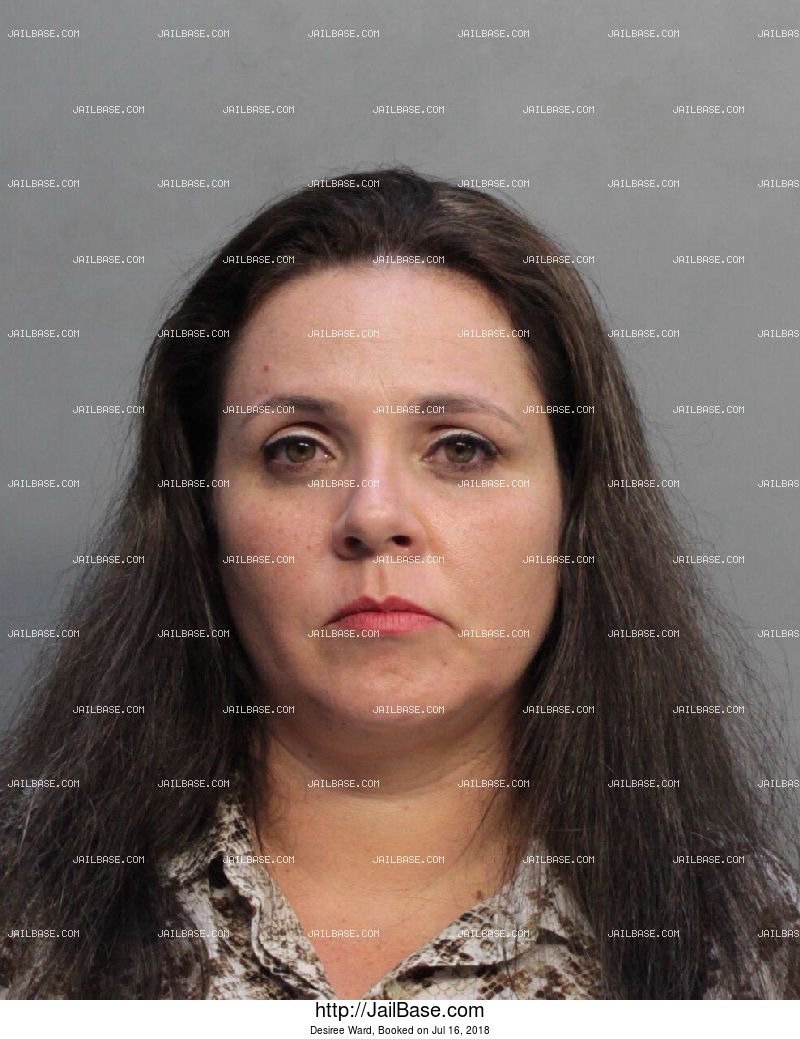 DESIREE WARD mugshot picture