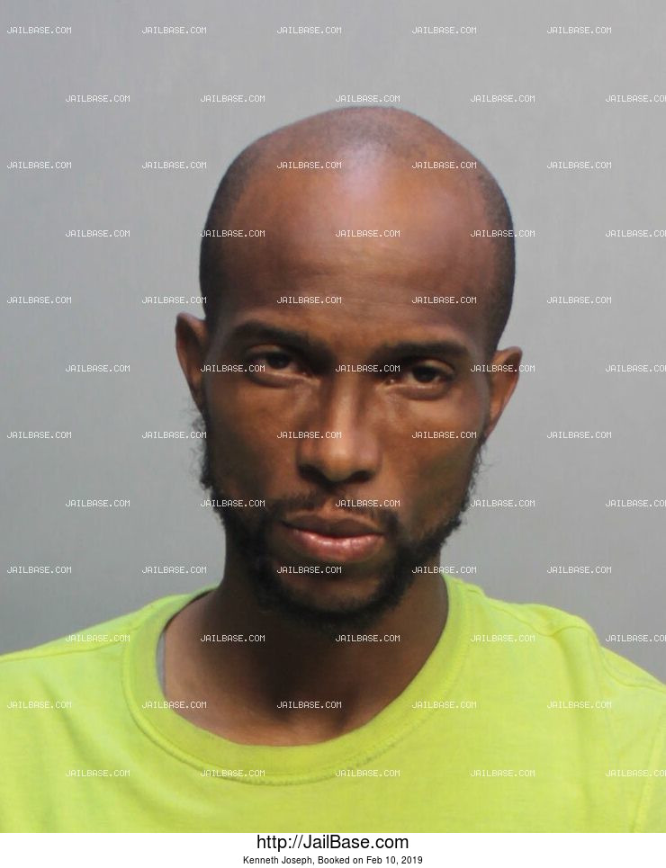 KENNETH JOSEPH mugshot picture