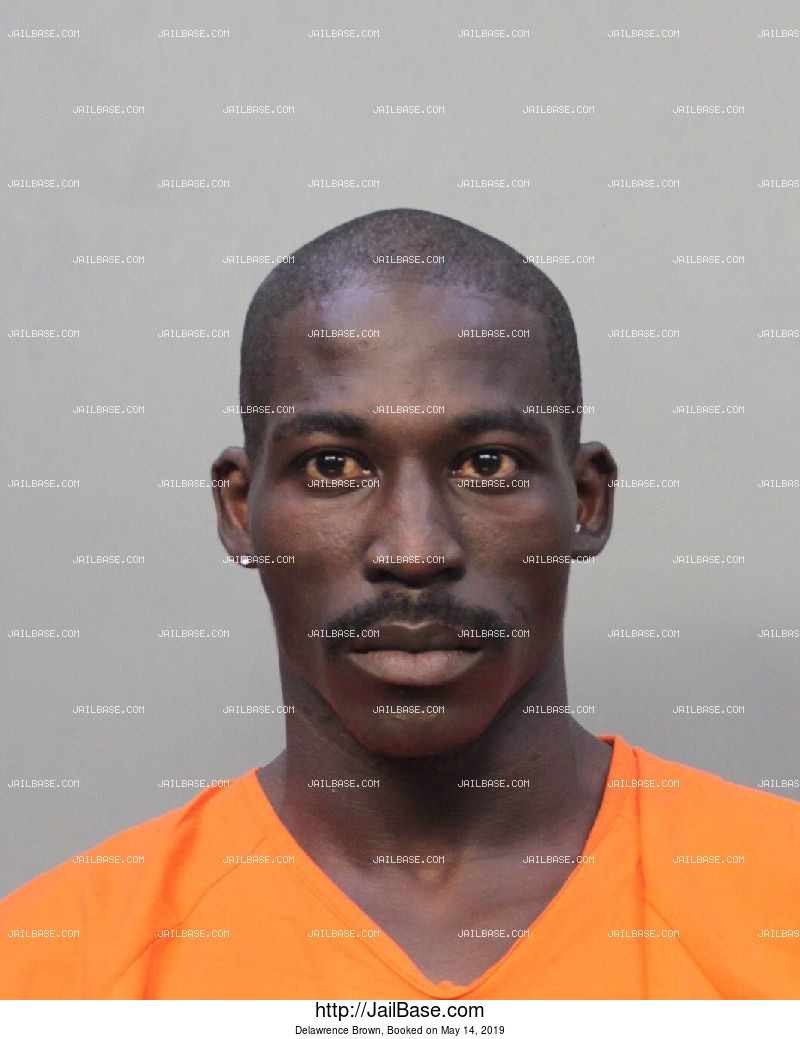Delawrence Brown mugshot picture