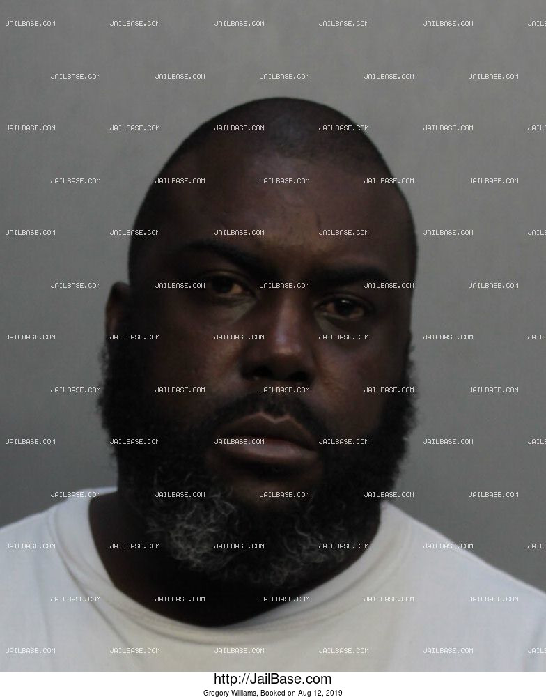 Gregory Williams mugshot picture