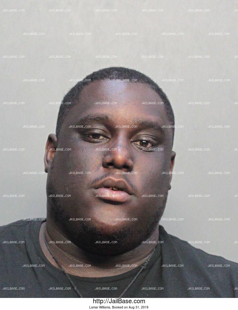 Lamar Williams | Arrested on Aug. 31, 2019 | JailBase