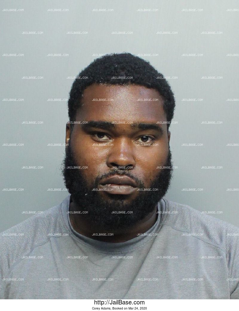 Corey Adams mugshot picture