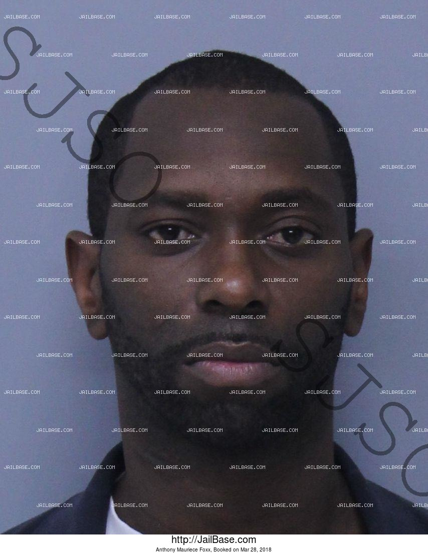 ANTHONY MAURIECE FOXX mugshot picture