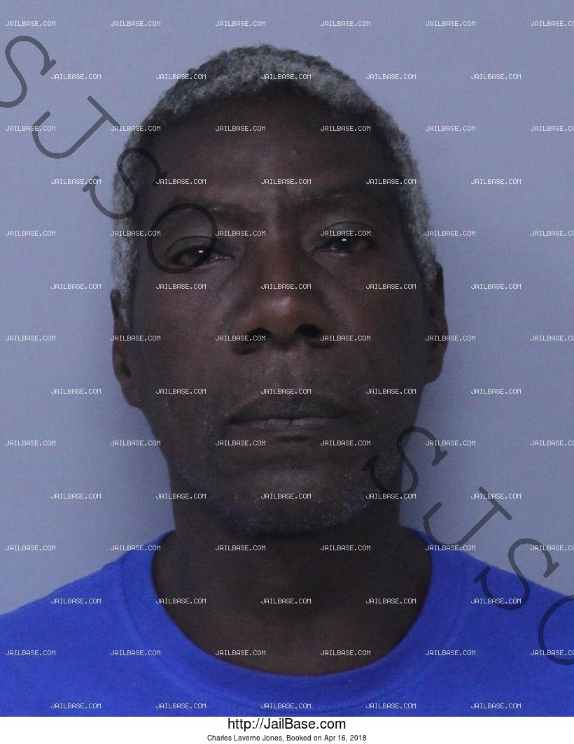 CHARLES LAVERNE JONES mugshot picture
