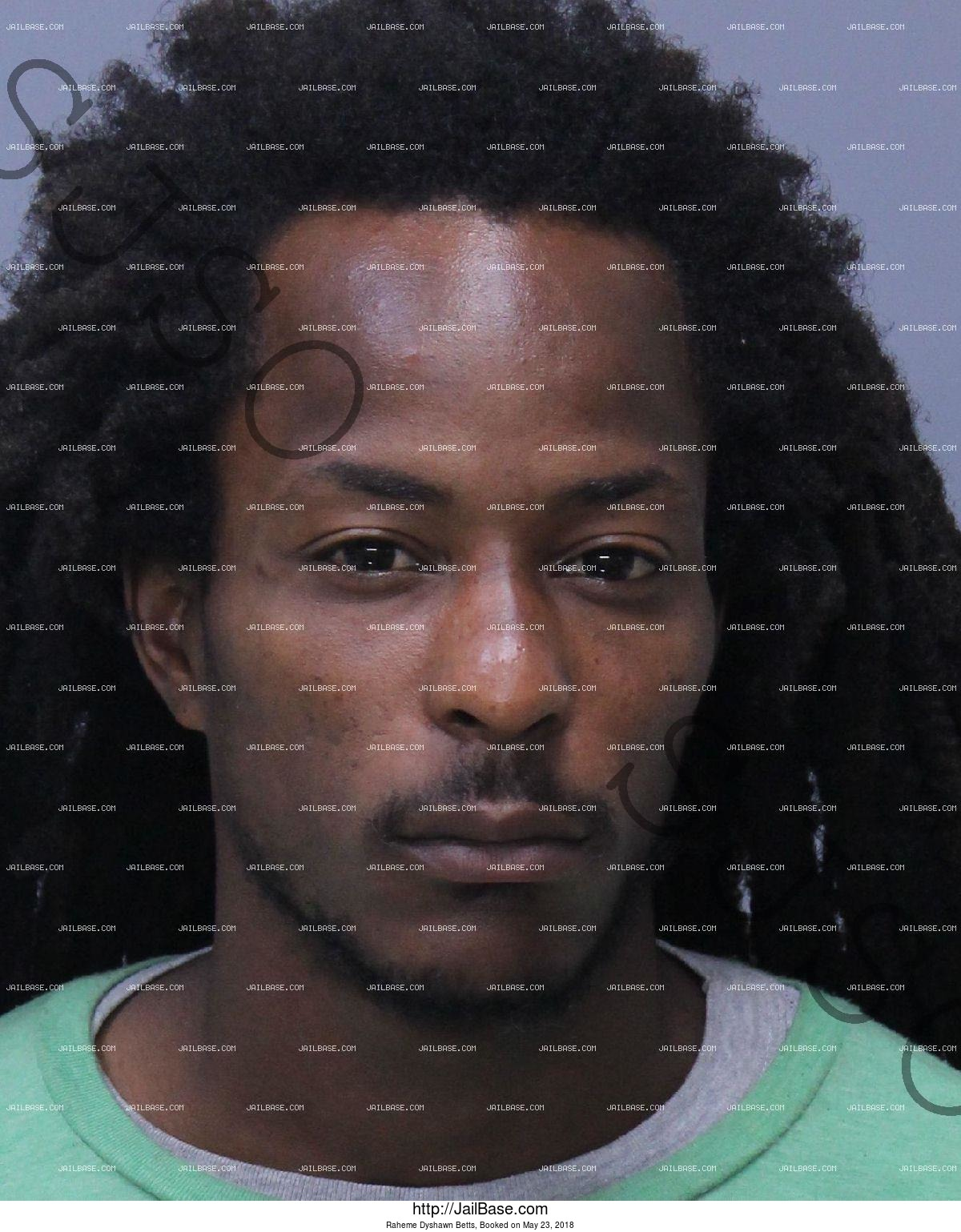 RAHEME DYSHAWN BETTS mugshot picture
