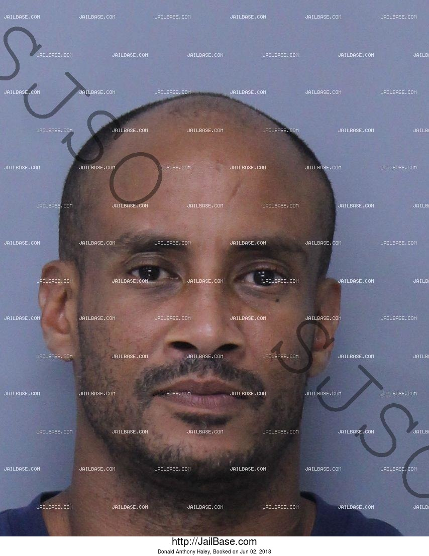 DONALD ANTHONY HALEY mugshot picture