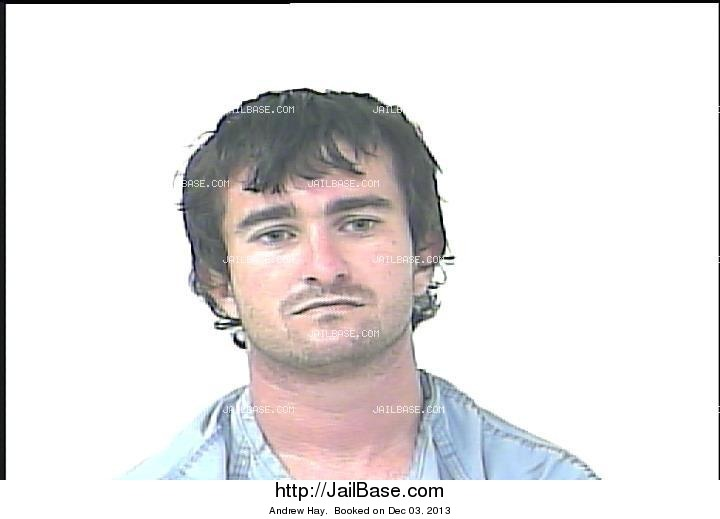 andrew hay mugshot picture